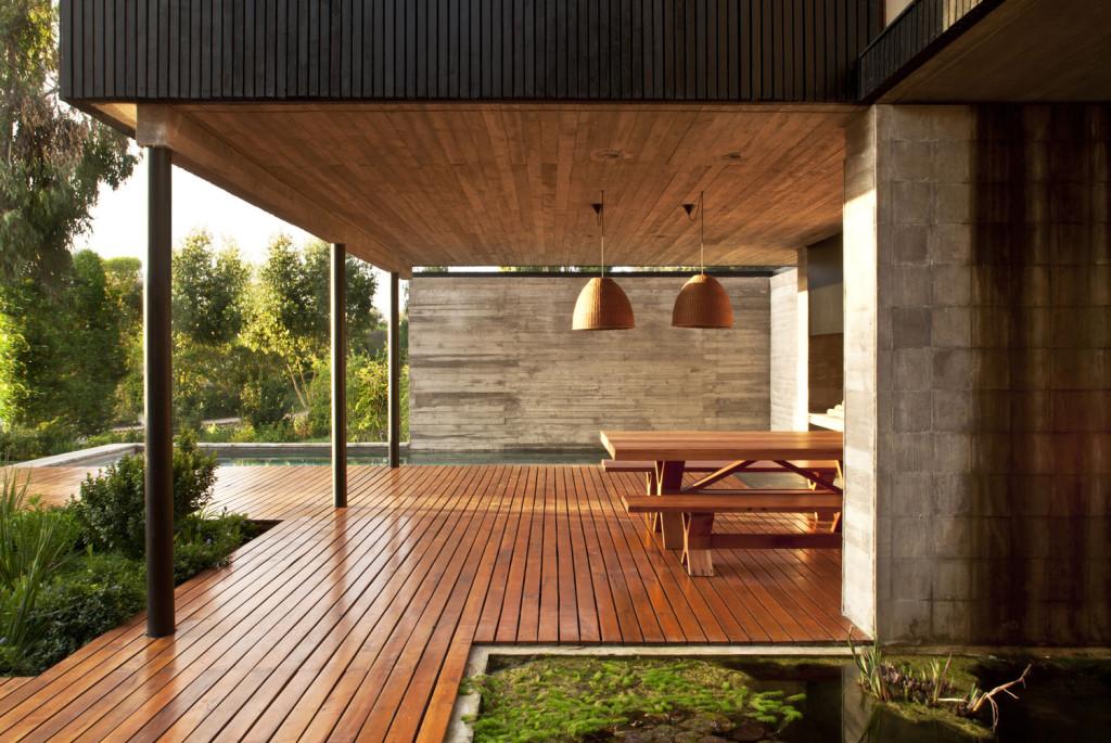 zahradní terasa