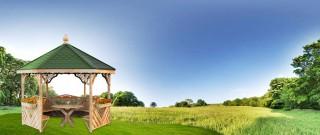 Možnosti využití zahradních altánů