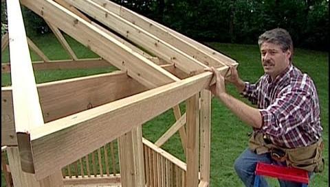 Jak postavit altán