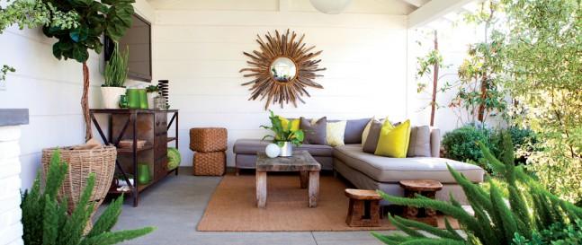 Zahrada plná dřevěných prvků: současný trend